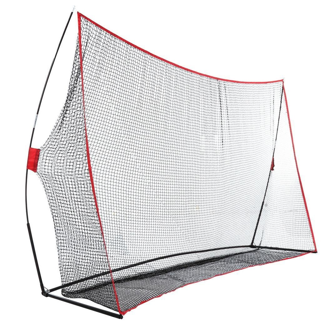 Rapesee 10 x 7ft Golf Net Practice Driving Indoor and Outdoor, Golfing at Home Swing Training Aids with Bow Frame