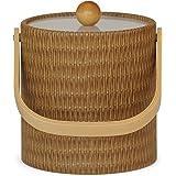 Mr. Ice Bucket Ice Bucket, 3-Quart, Wicker Maldives