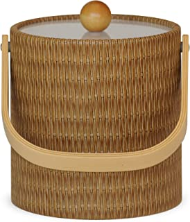 product image for Mr. Ice Bucket Ice Bucket, 3-Quart, Wicker Maldives