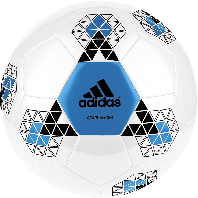 adidas Starlancer V - Balón de fútbol: Amazon.es: Deportes y aire ...