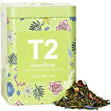 T2 Tea Green Rose Green Tea, Loose Leaf Tea in Limited Edition Tin, 100g