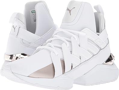 2b07e211904504 PUMA Women s Muse Echo White 11 B US  Amazon.co.uk  Shoes   Bags