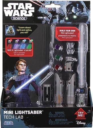 Amazon.com: Star Wars Mini sable de luz Tech Lab: Toys & Games