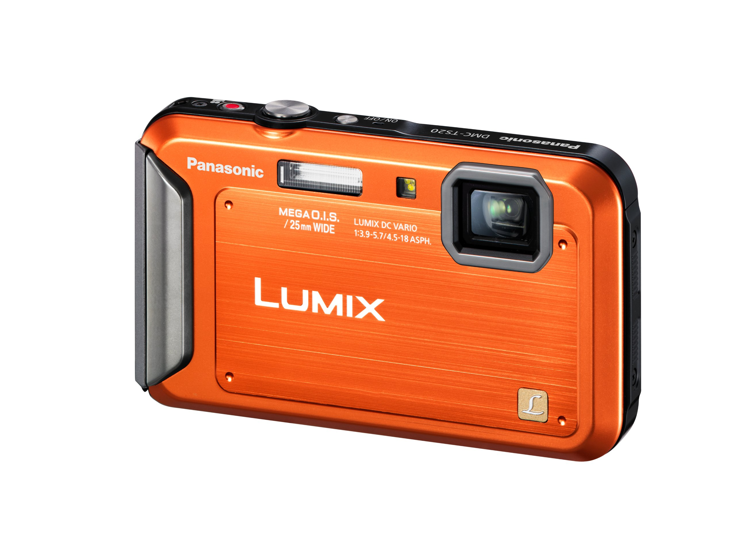 Panasonic Lumix TS20 16.1 MP TOUGH Waterproof Digital Camera with 4x Optical Zoom (Orange) (OLD MODEL) by Panasonic (Image #3)