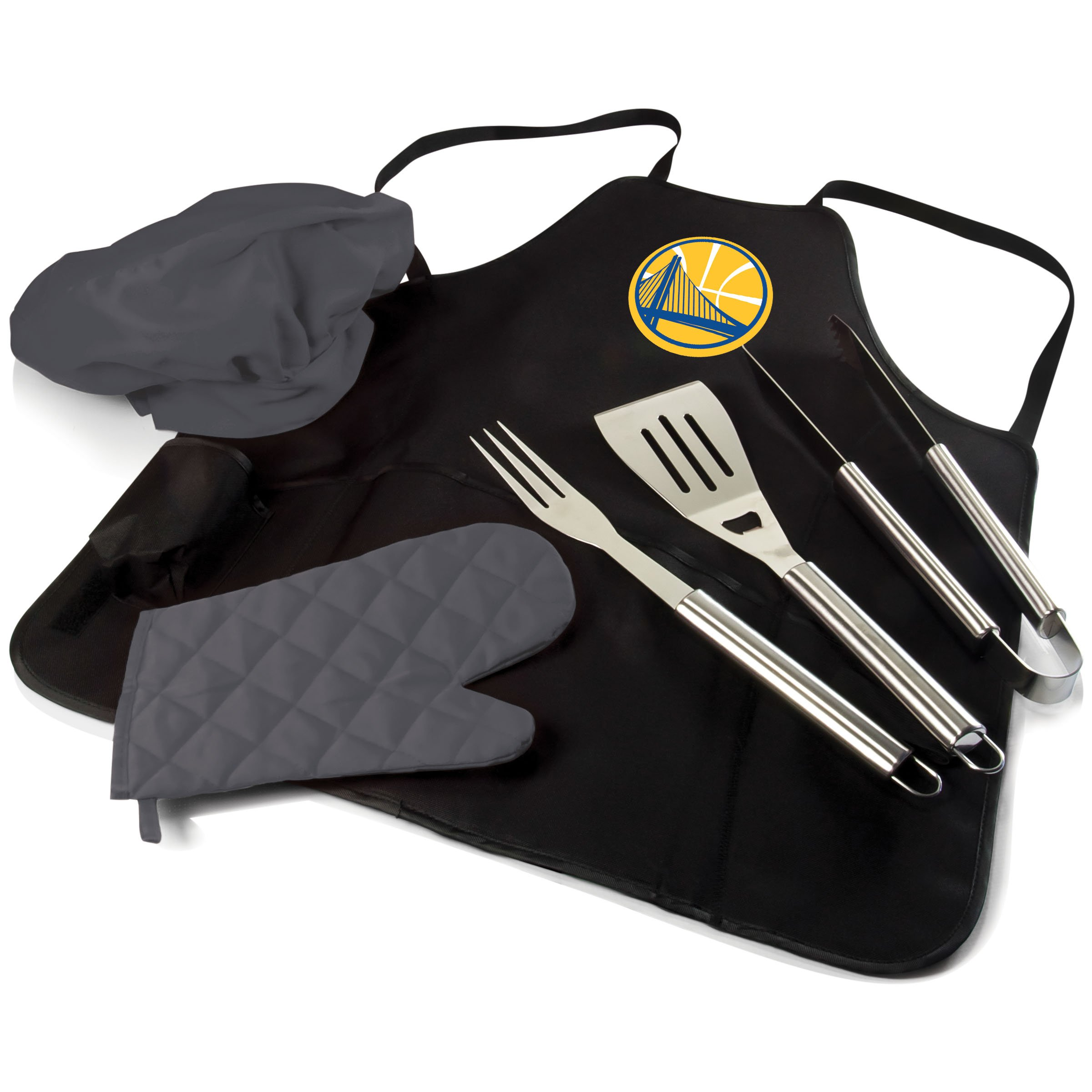 PICNIC TIME NBA Golden State Warriors BBQ Pro Tote, Black