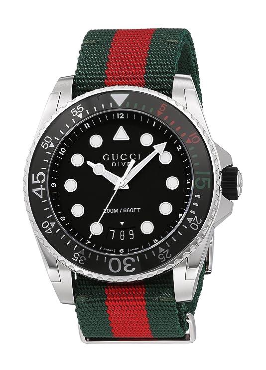 4a9b7a2e951 Gucci Dive YA136209  Amazon.co.uk  Watches