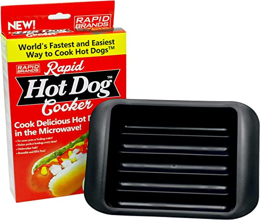 Amazon.com: Rapid Hot Dog Cocina – Cook perfecto Hot Dogs en ...
