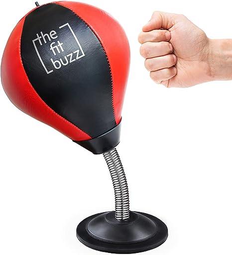 Boxing Punching Bag Speed Ball Desk Desktop Training Sparring Stress Release