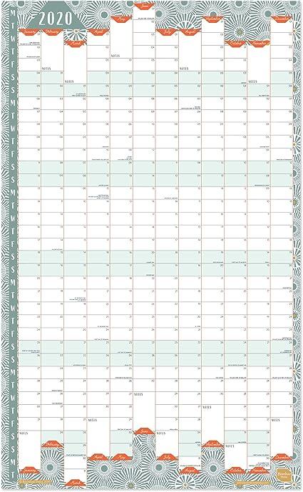 Calendario 2020 de Boxclever Press. Formato vertical calendario ...