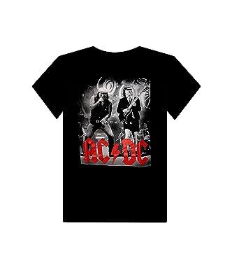 Buffini AC DC Herren Schwarz T-Shirt  Amazon.de  Bekleidung 30e823ba05