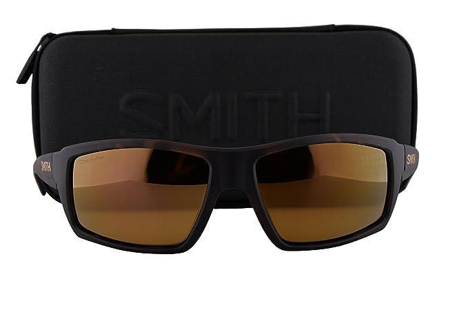 7152cecc47 Image Unavailable. Image not available for. Colour  Smith Challis  Sunglasses Matte Tortoise w Polarized ChromaPop Bronze Mirror Lens SST