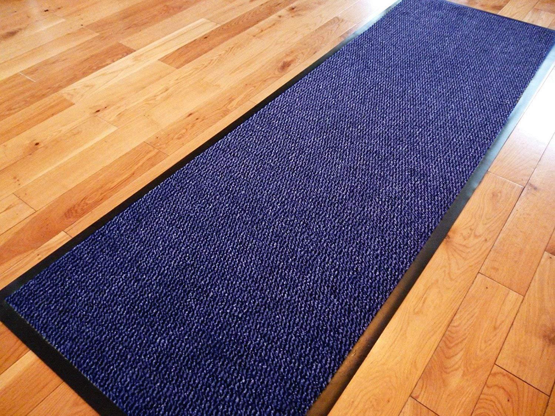 TrendMakers Dirt Stopper Carpet Runner 60cm x 80cm Beige/Black.With Non-Slip Back For Home Office Kitchen