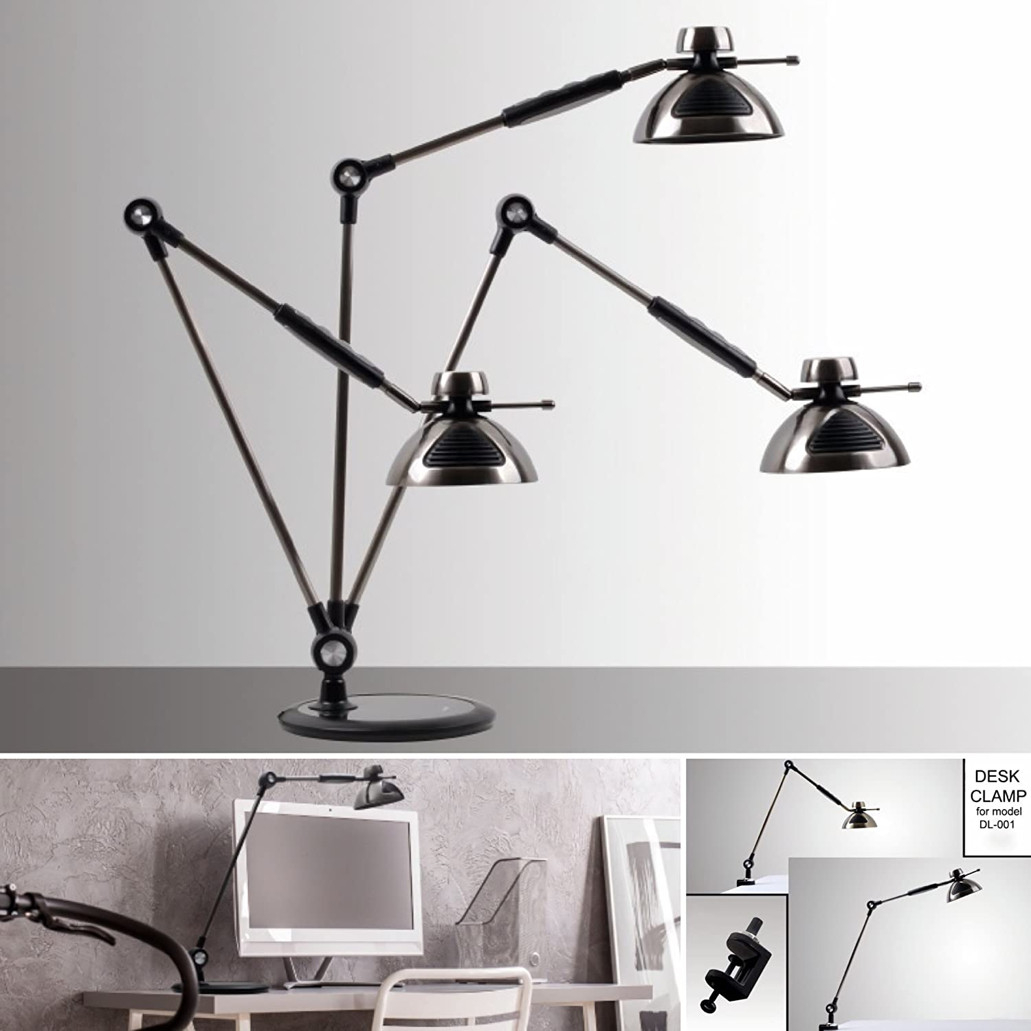 OTUS LED Desk Lamp GESTURE CONTROL, Dimmable Metal Architect Desk ... for Lamp Product Photography  192sfw