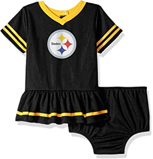 8782b5185b1 NFL Pittsburgh Steelers Baby-Girls 2-Piece Football Dress Set