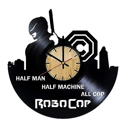 Amazon Com Robocop Vinyl Wall Clock Handmade Gift For Any