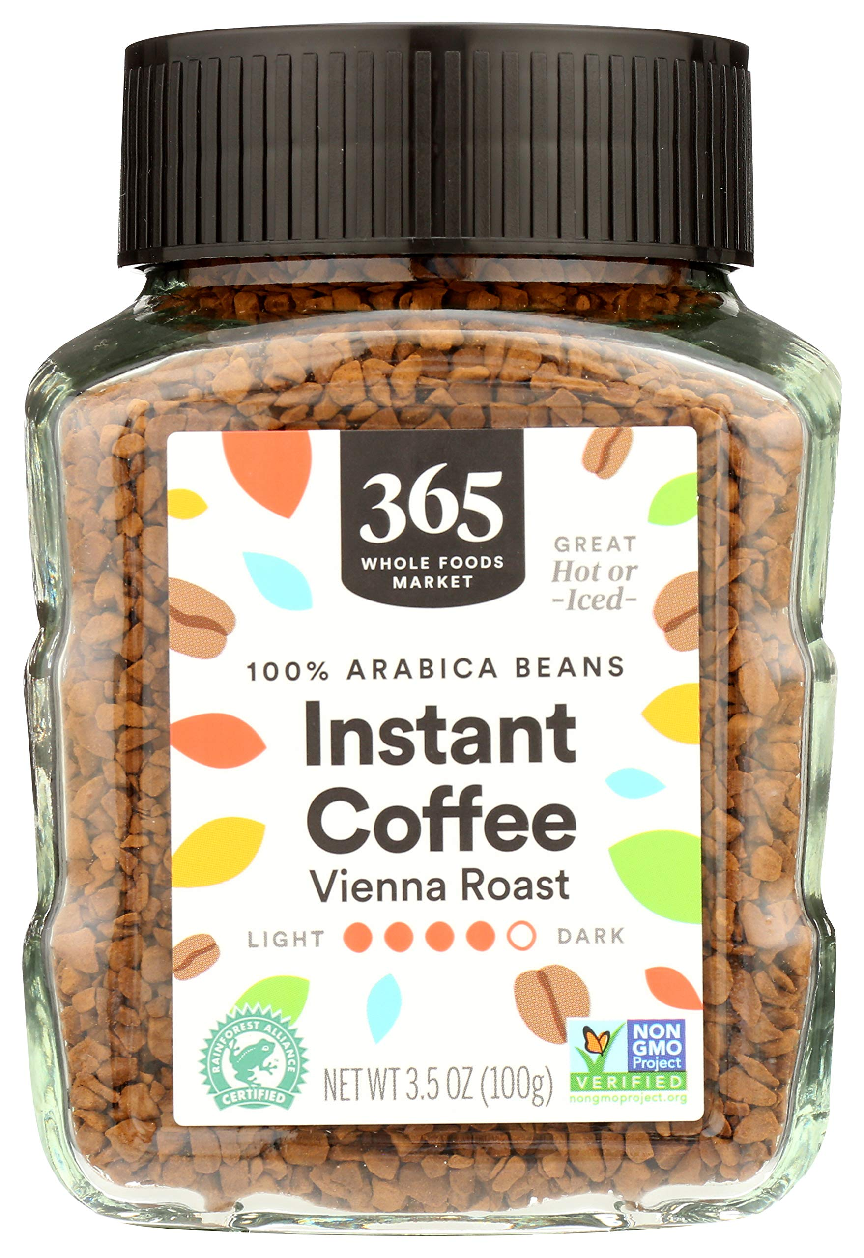 365 by Whole Foods Market, Instant Coffee, Vienna Roast, 3.5 Ounce