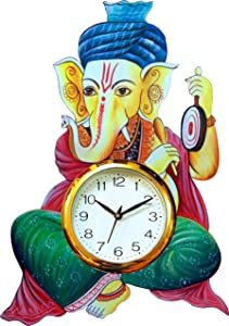 Safa Lord Ganesh Wall Clock