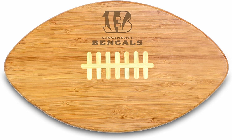NFL Cincinnati Bengals Touchdown Pro! Bamboo Cutting Board, 16-Inch