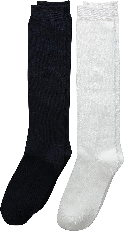 trimfit Big Girls Flat Knit Comfortoe Socks Pack of 2