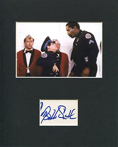 Bubba Smith Michigan State Spartan Police Academy Signed