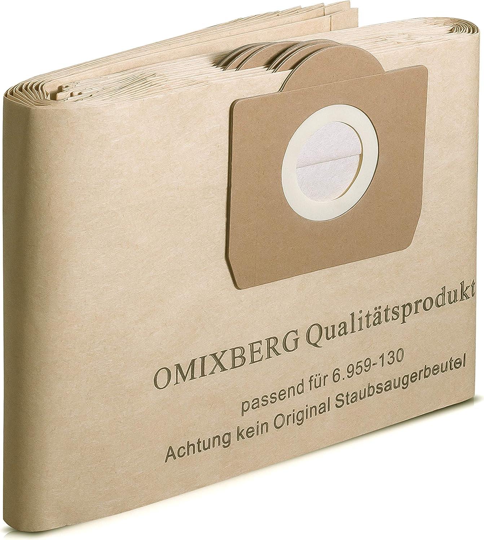 5 original sacs pour aspirateur 6.959-130 pour Karcher wd 3.200