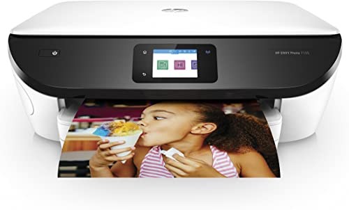 HP ENVY Photo 7155 All-in-One Photo Printer with Wireless Printing, Instant Ink ready – White K7G93A 742