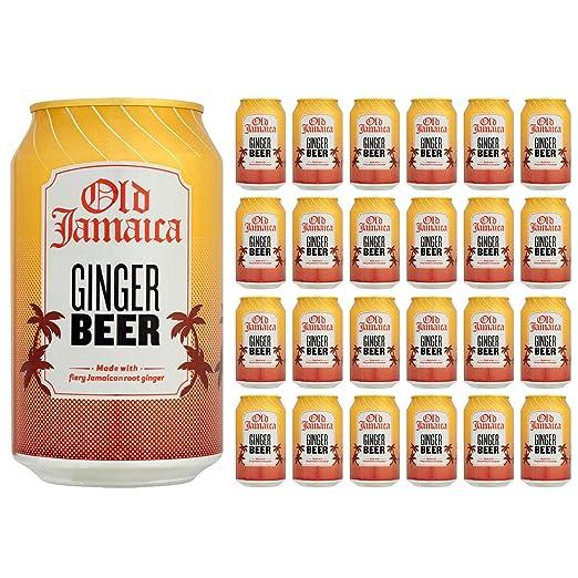 5 opinioni per Old Jamaica Ginger Beer 330ml (Pack di 24x 330ml)