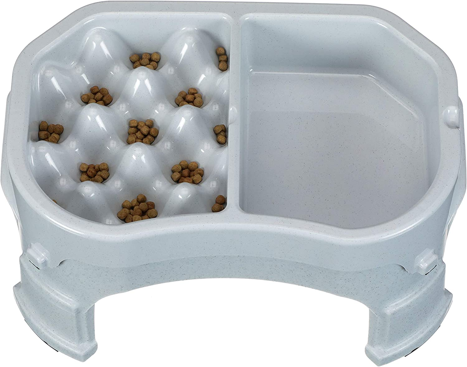 Neater Pet Brands – Neater Raised Slow Feeder – Elevated Dog Bowl and Adjustable Food Height (2.5 Cup, 6 Cup and Double Diner/w Water Bowl)