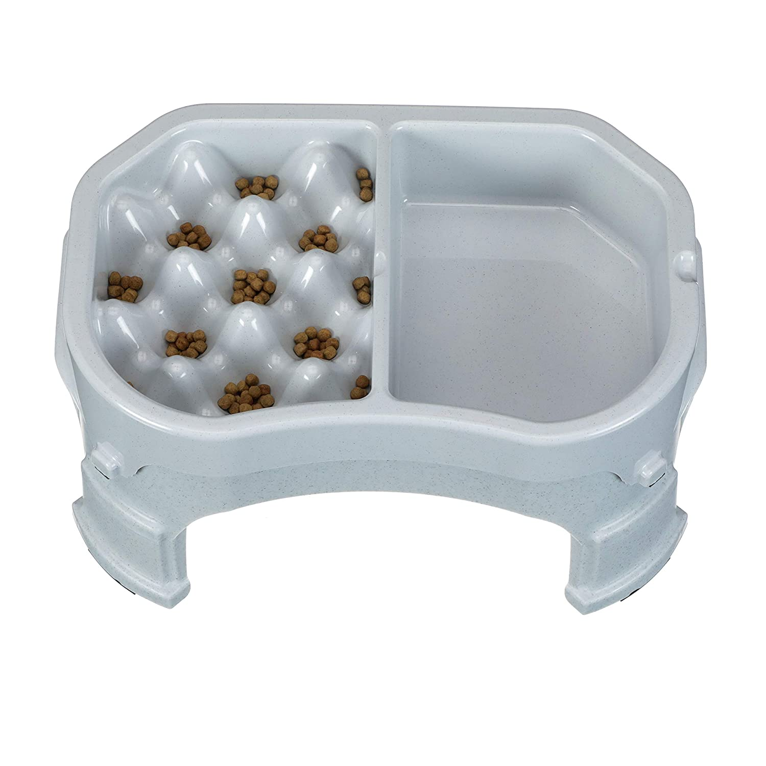 Slow Feeder /& Water Bowl Combo Reduce Bloat /& Improve Digestion Healthy Neater Slow Feeder Double Diner Dog Bowl Neater Pet Brands