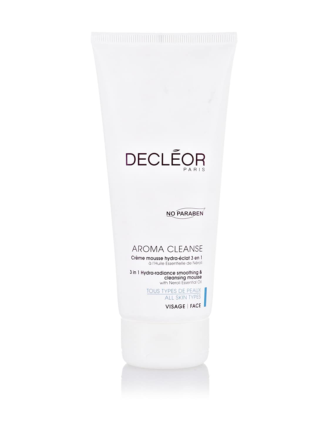 Decleor Aroma Cleanse 3-in-1 Hydra Radiance Smoothing and Cleansing Mousse with Neroli Essential Oil 200 ml DEC90136 40928