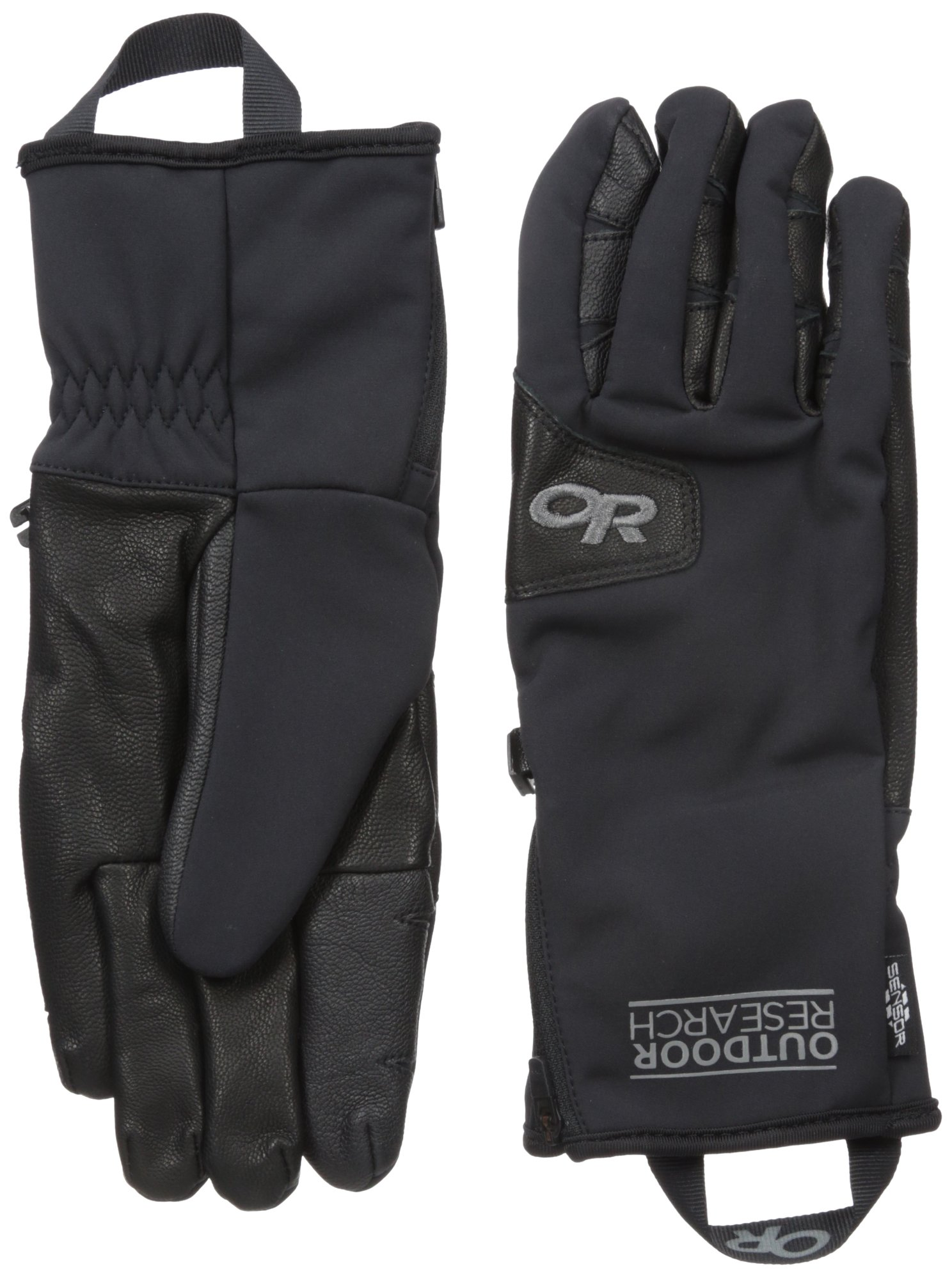 Outdoor Research Men's Stormtracker Sensor Gloves, Black, Medium