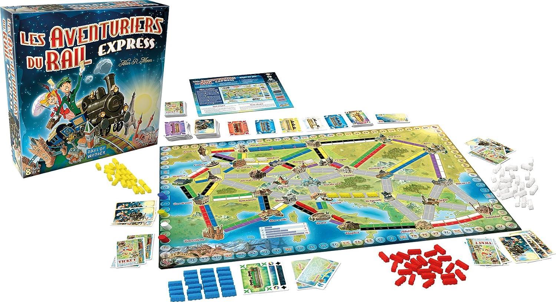 Asmodee-Les Aventuriers Du Rail Express, Multicolor, Norme (AVE22): Amazon.es: Juguetes y juegos