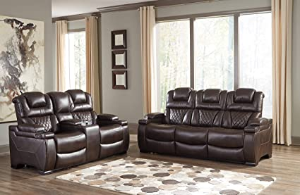 Surprising Amazon Com Ashley Furniture Design 75407 Warnerton Set Home Interior And Landscaping Eliaenasavecom