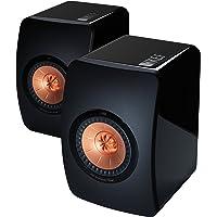 KEF LS50 Mini Monitor High Gloss Piano Speakers (Pair) (Black)
