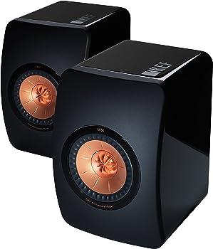 KEF LS50 Mini Monitor Piano Speakers