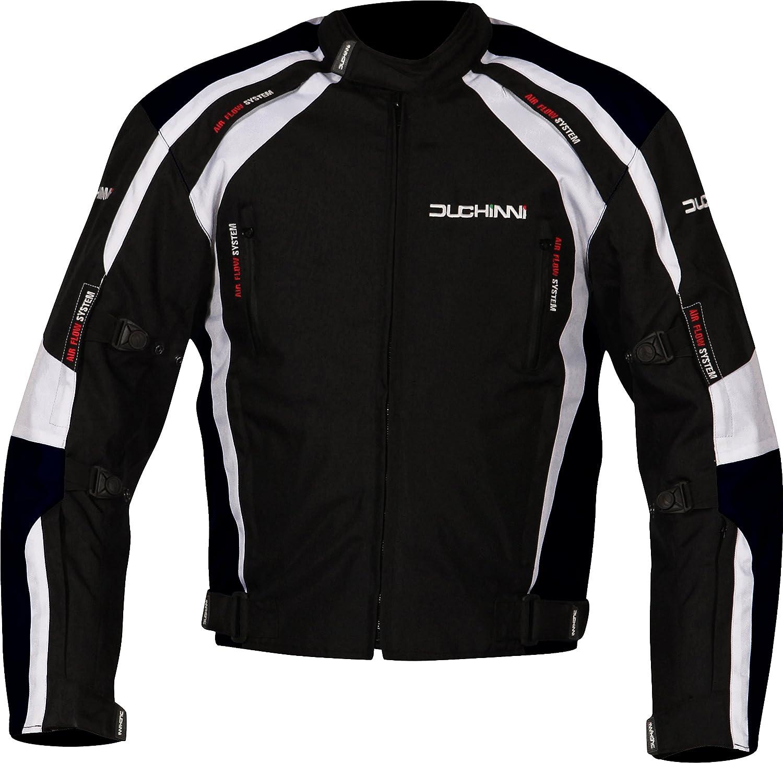 Red, Medium DUCHINNI Misano All Season Motorcycle Jacket