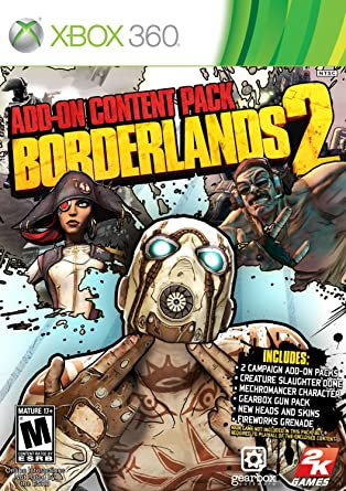 Amazon com: Borderlands 2: Add-On Content Pack: Video Games