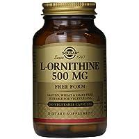 Solgar, L-Ornithine, 500 mg, 100 Veggie Caps