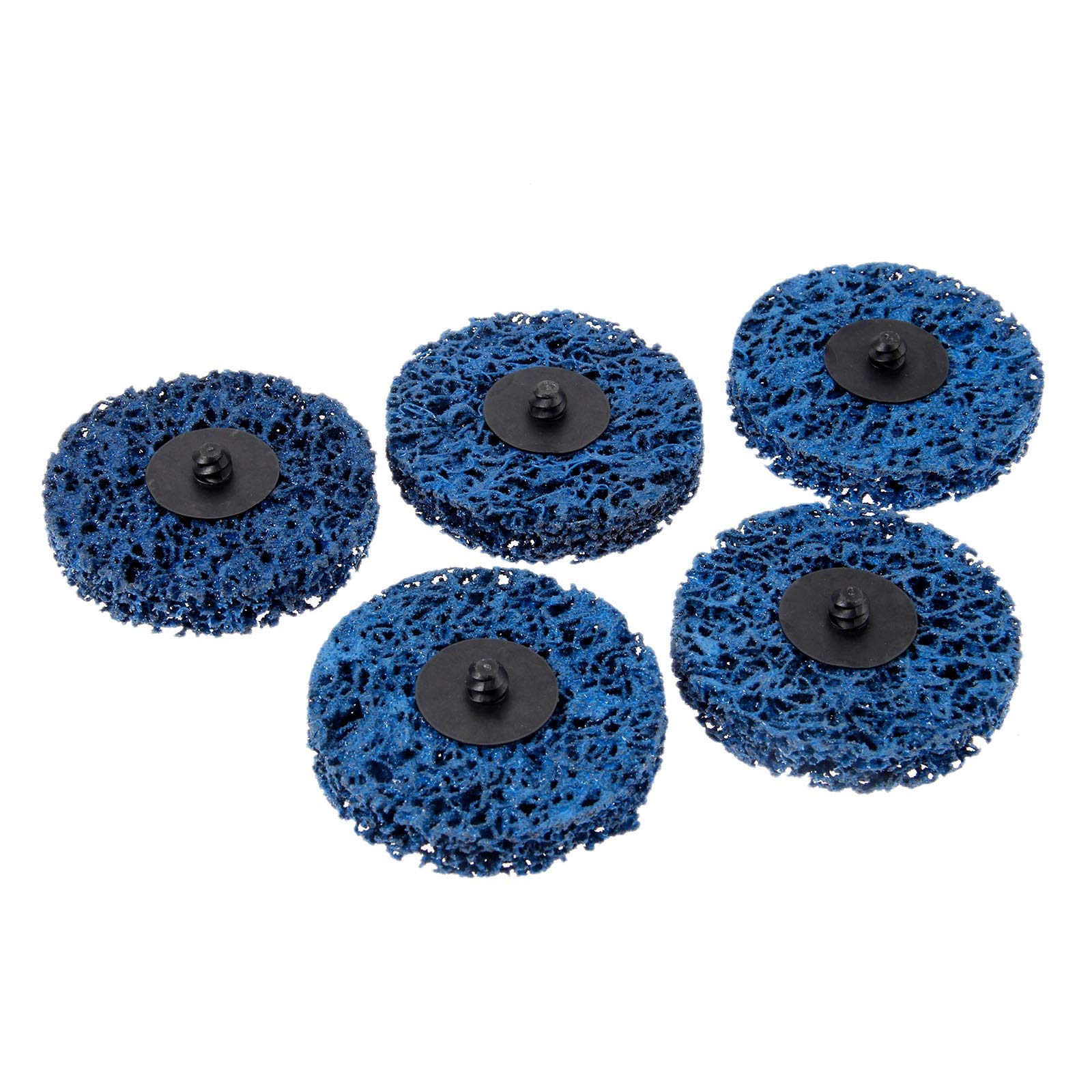 Grind Stone - 5pcs 75mm/3inch Strip Wheels Paint Rust Removal Clean Right Angle Grinder Discs For Metals Fiber Glass Stone Wood
