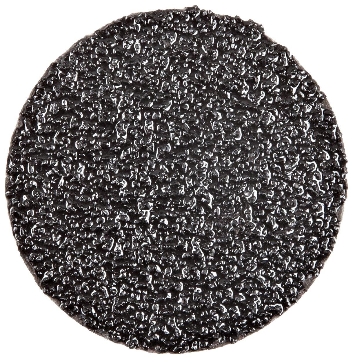 3M Roloc Fibre Disc 501C TR, Alumina Zirconia, 2'' Diameter, 36 Grit (Pack of 50)