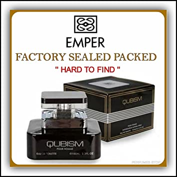 Qubism Pour Homme By Emper Edt 3.3 Oz New in Sealed ...