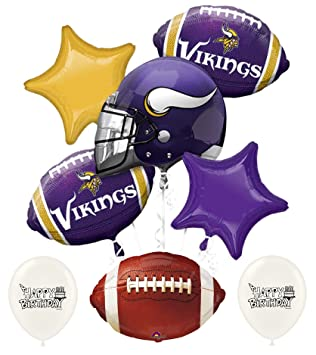 38b17e85 Amazon.com: NFL Football NFC Teams Party Balloon Bouquet Bundle with ...