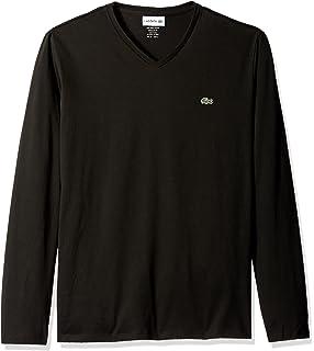 Lacoste Men s Long Sleeve Jersey Hooded T-Shirt at Amazon Men s ... 28882e7c8