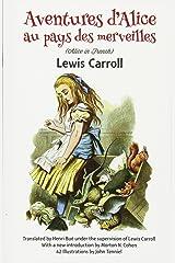 Aventures d'Alice au Pays des Merveilles (Dover Dual Language French) Paperback