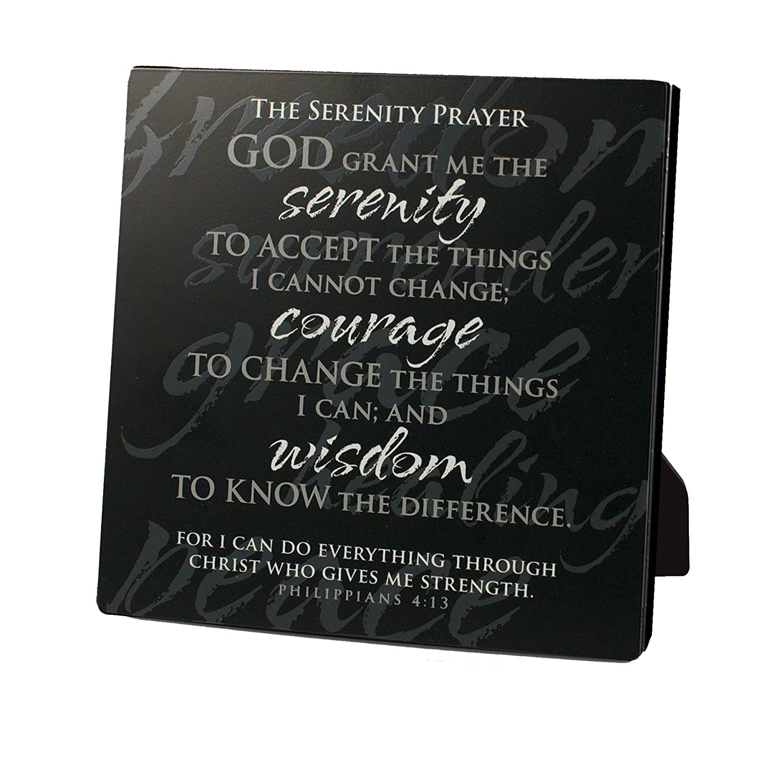 Simple Faith Serenity Prayer Plaque
