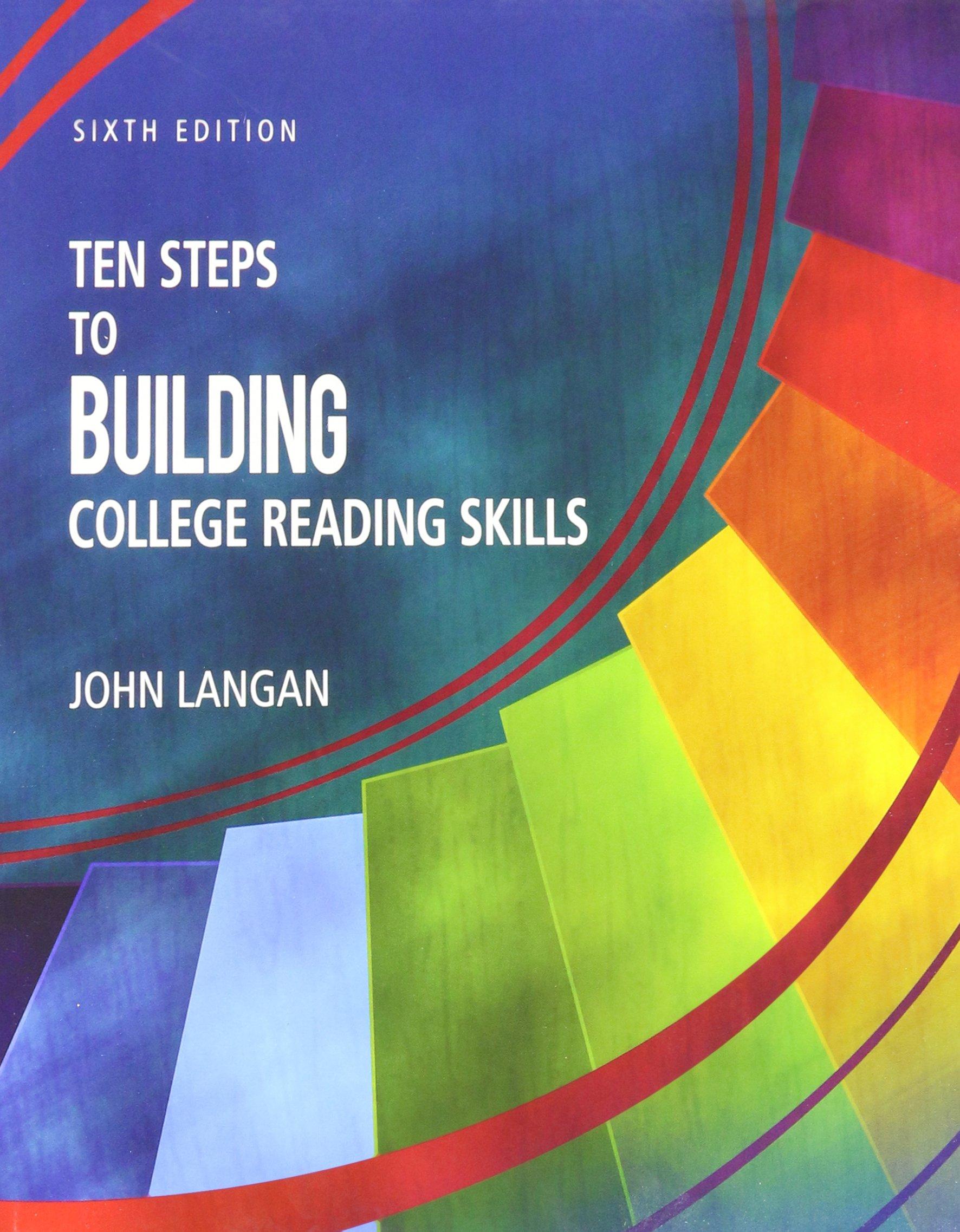 Ten steps to building college reading skills john langan ten steps to building college reading skills john langan 9781591944645 amazon books fandeluxe Choice Image