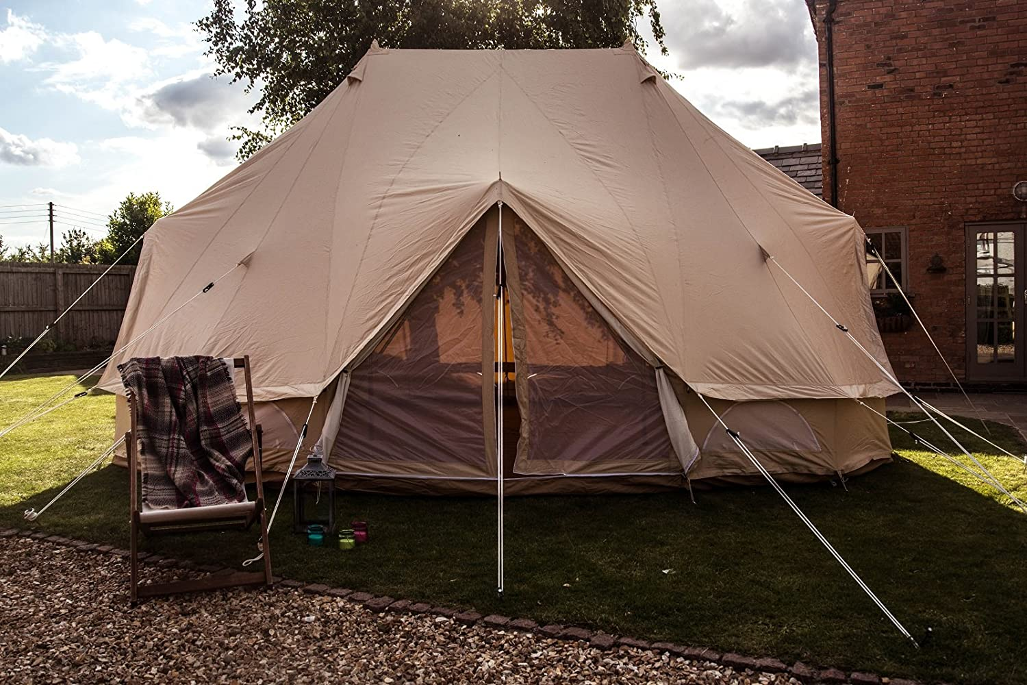 & Bell Tent Emperor / Double: Amazon.co.uk: Sports u0026 Outdoors