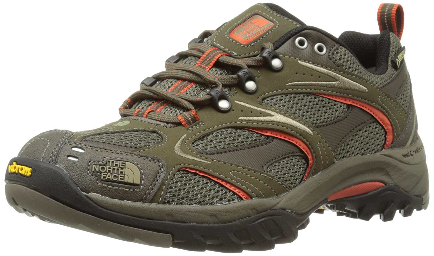 48316aefe The North Face Men's Hedgehog GTX XCR III Trainers - Coffee Brown/Zion  Orange, UK 10