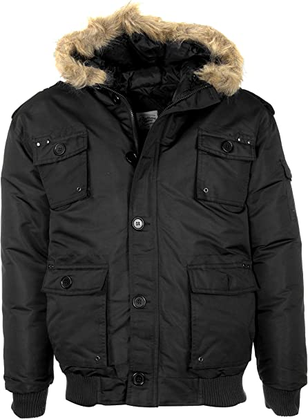 Vittorino Men's Regular FIT Thickened Puffer Jacket with
