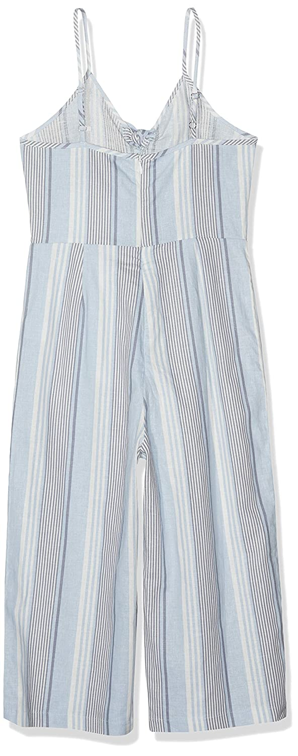 New Look 915 Girls Stripe Linen Tie Front 6160353 Dress